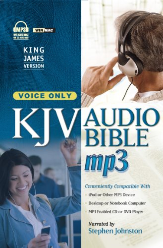 KJV Audio Bible (Audio Bible mp3): Stephen Johnston (Narrator)