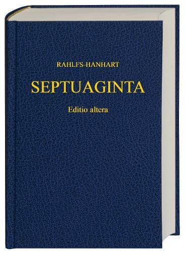 Greek Old Testament-FL-Septuaginta: Rahlfs, A.