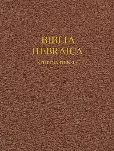 9781598561999: Biblia Hebraica Stuttgartensia (Hebrew Edition)