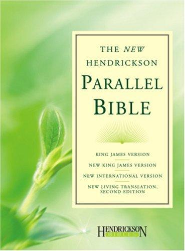 9781598562316: The New Hendrickson Parallel Bible-PR-KJV/NKJV/NIV/NLT