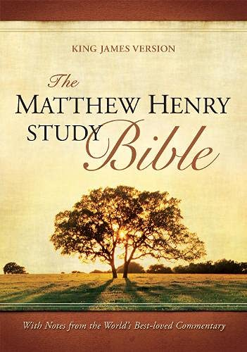 9781598563405: The Matthew Henry Study Bible: King James Version