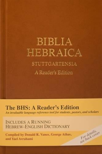 9781598563429: Biblia Hebraica Stuttgartensia: A Reader's Edition