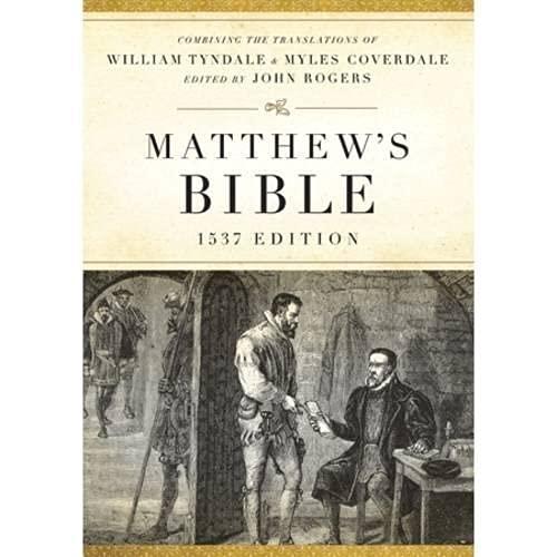 9781598563498: Matthew's Bible: 1537 Edition