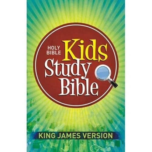 9781598563511: Kids Study Bible-KJV