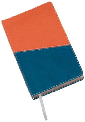 9781598563528: Holy Bible: King James Version, Blue on Terra Cotta, Flexisoft, Kids Study Bible