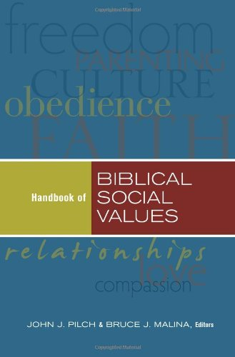 9781598563764: Handbook of Biblical Social Values