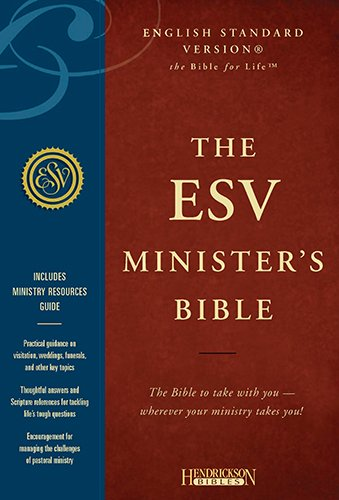 9781598563801: Minister's Bible-ESV