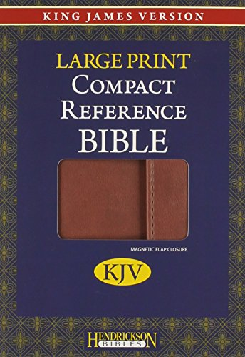 Holy Bible: King James Version, Espresso, Flexisoft, Magnetic Flap Closure, Compact Reference: ...