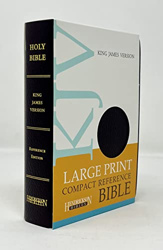 9781598563979: Holy Bible: King James Version, Espresso, Imitation Leather, Large Print Compact Reference Bible