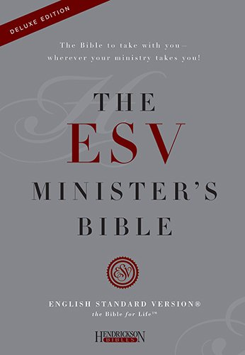9781598563986: Holy Bible: English Standard Version, ESV Morroco, Leather, MinisterÂ's Bible