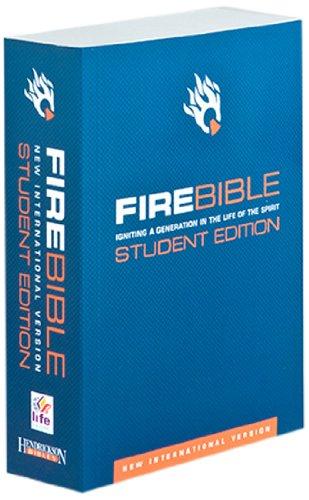 9781598564761: Fire Bible: New International Version, Student Edition