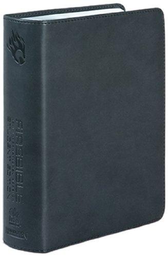 9781598564785: Fire Bible: New International Version, Black, Imitation Leather