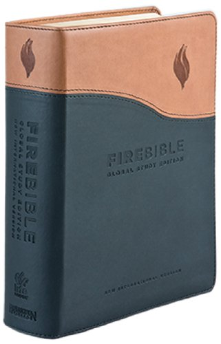 New International Version Fire Bible Black/Tan Flexisoft: Stamps, Donald