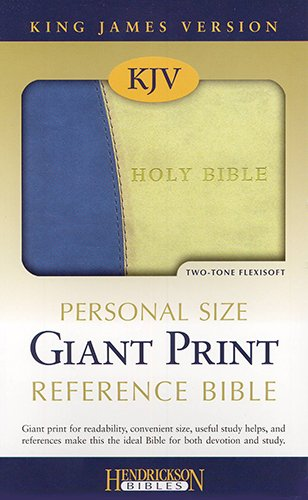 Personal Size Giant Print Reference Bible-KJV (9781598565003) by [???]