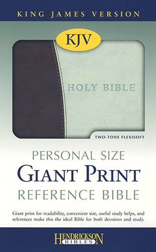 9781598565119: Personal Size Giant Print Reference Bible-KJV