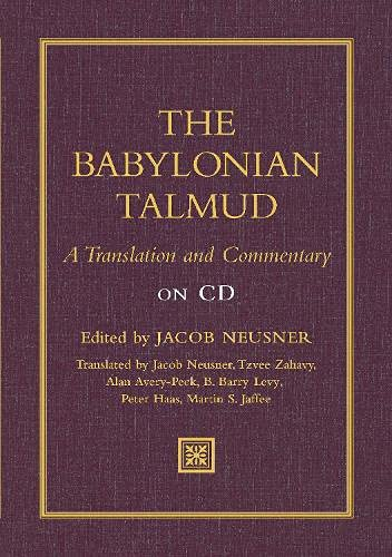 9781598565270: Babylonian Talmud: A Translation and Commentary on CD