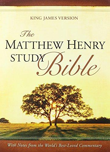9781598565430: The Matthew Henry Study Bible: King James Version