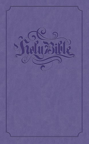 9781598566147: Holy Bible: King James Version Lilac Flexisoft Gift