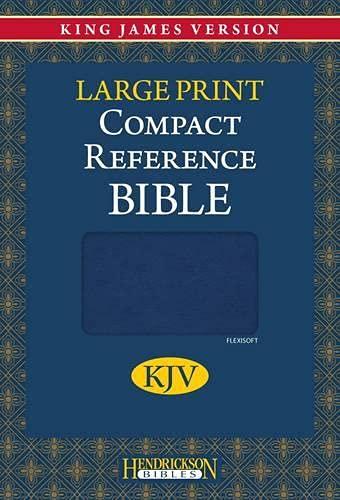9781598566185: Compact Reference Bible-KJV-Large Print