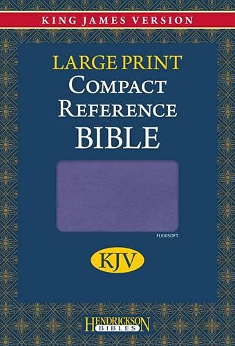 9781598566208: Holy Bible: King James Version, Lilac, Flexisoft, Reference Bible