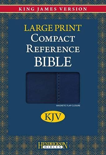 Holy Bible: King James Version, Blue Flexisoft with Magnetic Flap, Reference Bible (Kjv Comapct Reference Bible) (1598566237) by Hendrickson Publishers