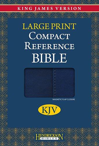 9781598566246: Compact Reference Bible-KJV-Large Print