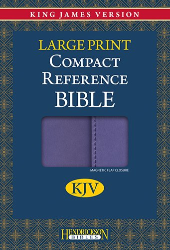 9781598566260: Compact Reference Bible-KJV-Large Print