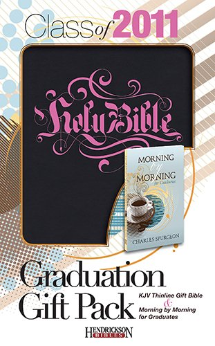 9781598566789: Graduation Gift Pack-KJV: Thinline Gift Bible and Morning by Morning for Graduates [With Morning by Morning for Graduates]
