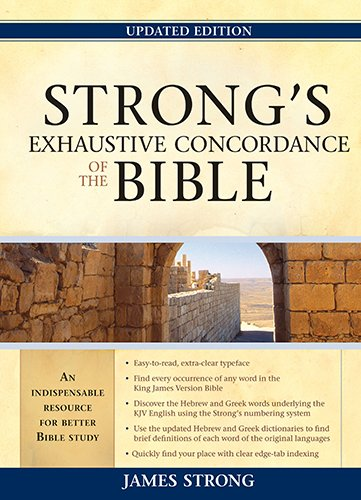 9781598566932: Strong's Exhaustive Concordance to the Bible
