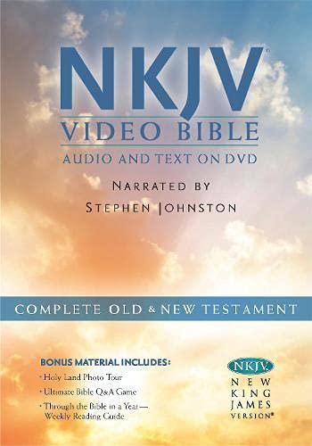 9781598567113: NKJV Video Bible: New King James Version, Video Bible