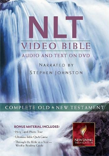 9781598567120: NLT Video Bible: New Living Translation: Complete Old & New Testament