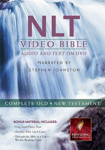 9781598567199: Holy Bible: New Living Translation, Video Bible, Includes Bonus Disc