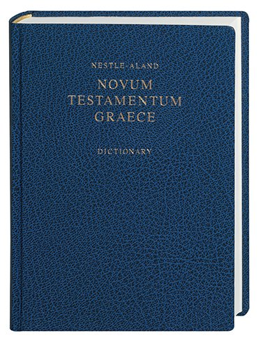9781598567212: Novum Testamentum Graece with Revised Concise Greek-English Dictionary (Greek Edition)