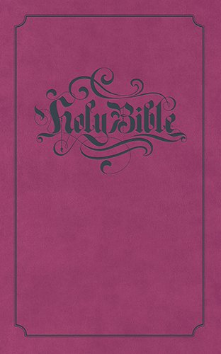 9781598568042: Holy Bible: King James Version Pink Flexisoft with Gray Foil