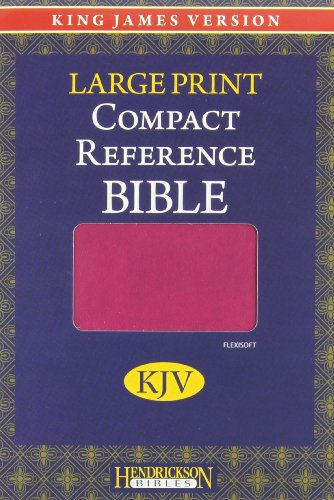9781598568097: Holy Bible: King James Version, Berry, Imitation Leather, Large Print Compact Reference Bible