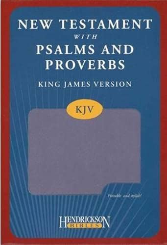 9781598568110: KJV New Testament with Psalms and Proverbs - Lilac (Kjv Bible Lilac)