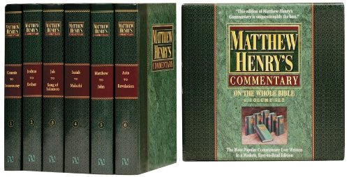 9781598568226: Matthew Henry's Commentary on the Whole Bible