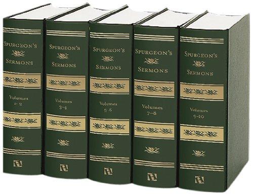 Spurgeon's Sermons, 5 Volumes: Spurgeon, C. H.