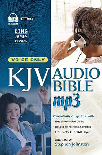 9781598569322: MP3 Bible-KJV-Voice Only