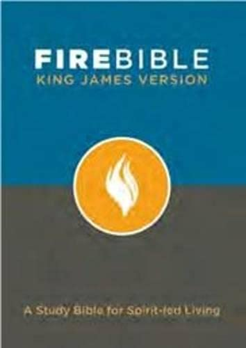9781598569452: Fire Bible: King James Version: A Study Bible for Spirit-led Living