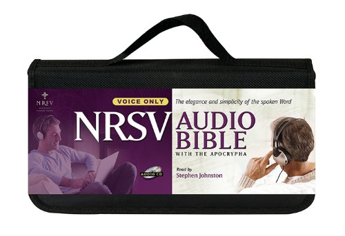 9781598569513: New Revised Standard Version Audio Bible: Voice only, with Apocrypha