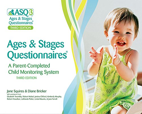 9781598570021: Ages & Stages Questionnaires®, (ASQ-3™): A Parent-Completed Child Monitoring System