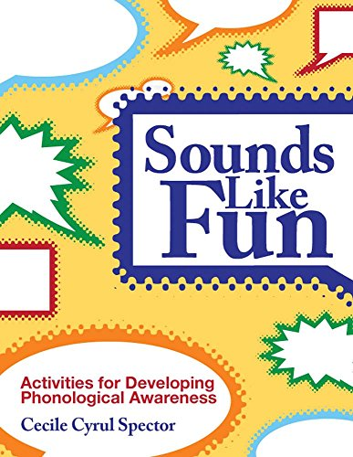 9781598570489: Sounds Like Fun: Activities for Developing Phonological Awareness, Revised Edition