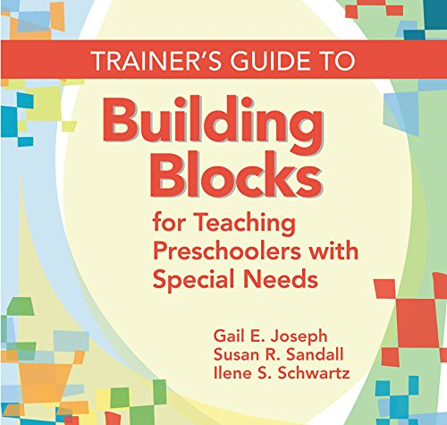 9781598570496: Trainer's Guide to Building Blocks for Teaching Preschoolers with Special Needs