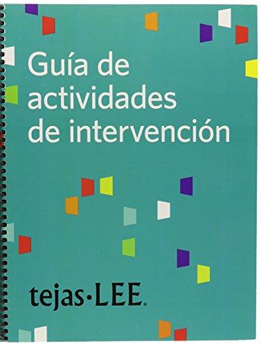 9781598571554: Tejas LEE Guía de Actividades de Intervención (Spanish Edition)
