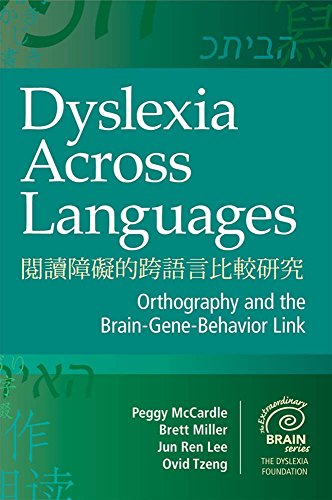 Dyslexia Across Languages: Orthography and the Brain-Gene-Behavior: Peggy McCardle Ph.D.