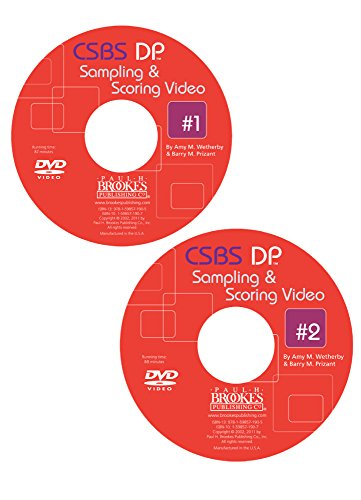 Csbs Dp Sampling and Scoring Videos 1 2 on DVD: Amy M. Wetherby, Barry M. Prizant
