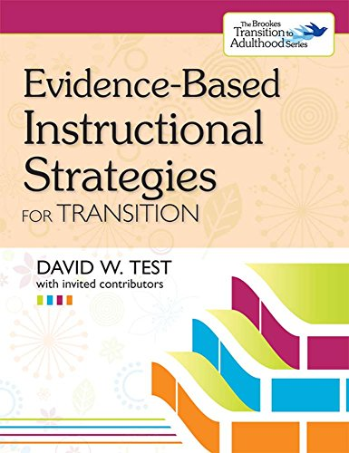 9781598571929: Evidence-Based Instructional Strategies for Transition