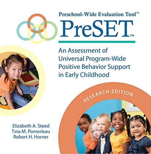 9781598572087: Preschool-Wide Evaluation Tool(TM) (PreSET(TM)), Research Edition: An Assessment of Universal Program-Wide Postitive Behavior Support in Early Childhood