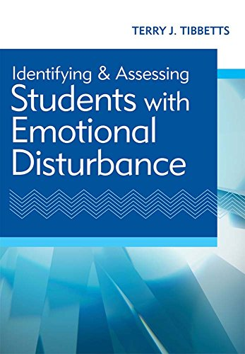 9781598572711: Identifying and Assessing Students with Emotional Disturbance
